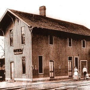 Scottsville Train Depot